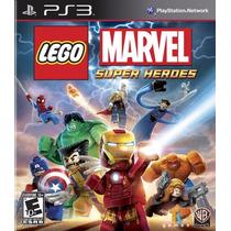 Lego Marvel Super Heroes | Ps3 | Nuevo Y Sellado