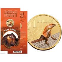 Moneda Australia 1 Dolar (2009) Lizard Lbf