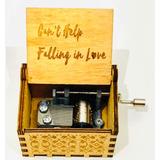 Caja Musical Cant Help Falling In Love Elvis Presley