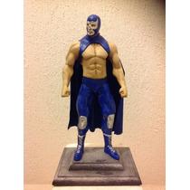 Blue Demon La Leyenda Azul Luchador Lucha Libre Figura