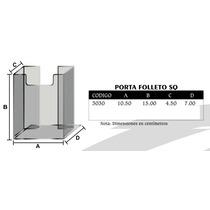Porta Folleto (triptico) En Acrilico Mod3030