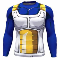 Playera Gym Gimnasio Deportiva Vegeta Dragon Ball Z