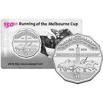 Moneda Australia 50 Cents (2010) Copa Melbourne Lbf