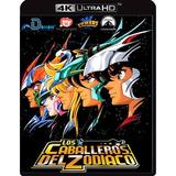 Caballeros Del Zodiaco Serie Completa + Películas Bluray