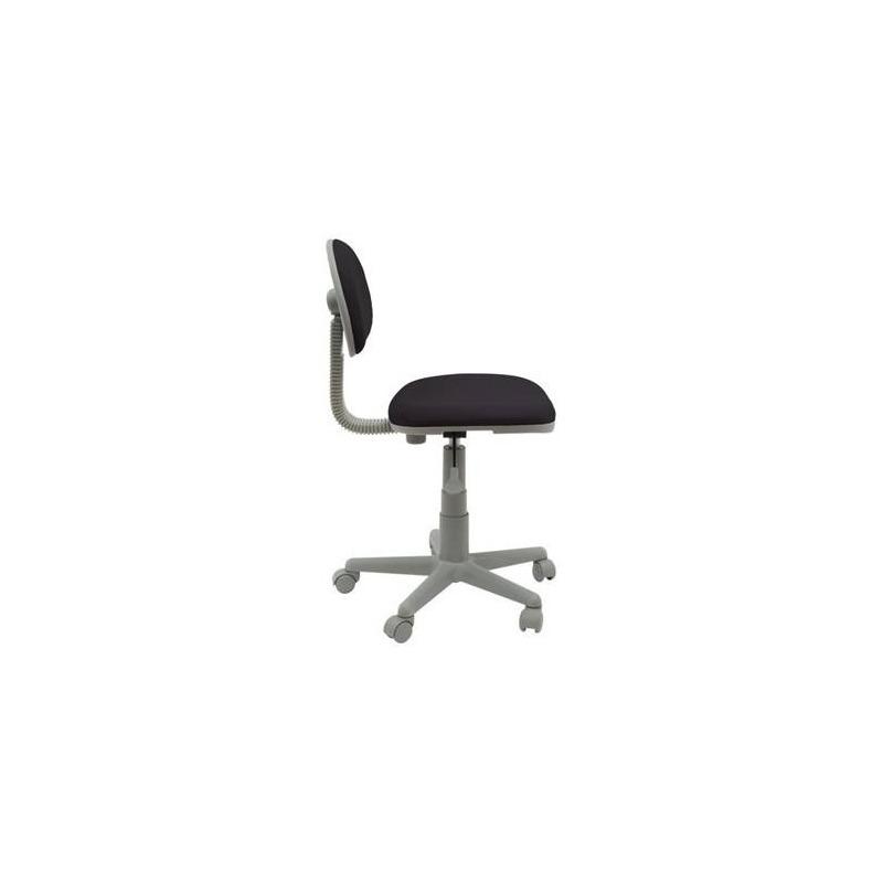 Studio designs silla de trabajo deluxe negro gris for Studio design sillas