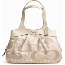 Coach Signature Optic Lexi Canvas #f18826 Ivory Unica!!!