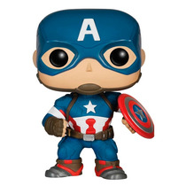 Funko Pop Capitan America Avengers 2 Vinyl Nuevo