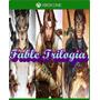Fable Aniversary, 2, 3 Xbox One Costo X Todo