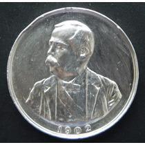 Medalla México Homenaje A Porfirio Diaz 1902 Plata