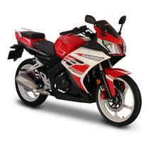 Moto Italika Rt 200 Rojo / Blanco