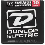 Juego Cuerdas Guitarra Dunlop Electric Medium Nickel  Pack