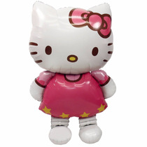 Globo Hello Kitty Gigante Metalico Inflable Helio Aire