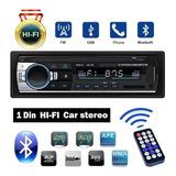Estéreo Para Auto Jsd-520 Con Radio, Bluetooth Y Auxiliar