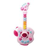 Guitarra Musical Juguete Con Luz Y Canciones Para Niños