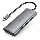 Vava Usb C Hub, 7 En 1 Usb C Adaptador Para Macbook/pro/air
