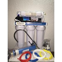 Filtro Osmosis Inversa 100 Gpd Con Bomba Y Tanque