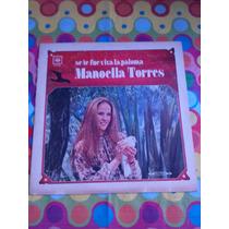 Manoella Torres Lp Se Fue Viva La Paloma