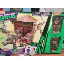 Tortugas Ninja Z-lines Escenario De Torre De Agua