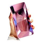 Funda Diamante Espejo Brillosa Ergonómica Samsung Galaxy