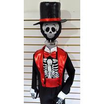 Disfraz Catrin Esqueleto Calaca Calavera Catrina! Llorona!