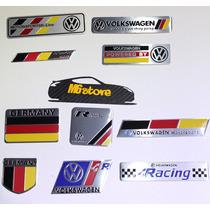 Emblema Vw Cajuela Alemania R Sline R Line Volswagen Logo