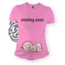 Playeras De Maternidad Embarazo Marca Gecko