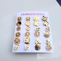 1123af56b361 Busca aretes de acero con los mejores precios del Mexico en la web ...