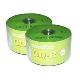 50 Cd Virgen Green Master  52x 700mb Facturad Full