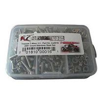 Rc Screwz Tra016 Tornillos Inoxidables Para T-maxx 3.3 Kit