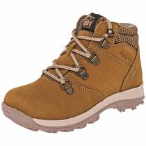 Zapatos Boddy T/botines Piel 48-05 Camel Niña Pv