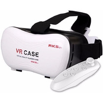 Lente Realidad Virtual 3d Gear Vr Box 5.0 Samsung Iphone