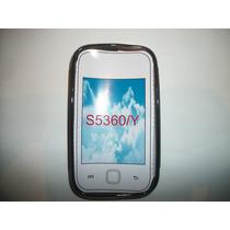 Protector Tpu Samsung Galaxy Young S5360 Color Humo!