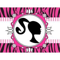Kit Imprimible Barbie Candy Bar Golosinas Tarjeta Invitac #1