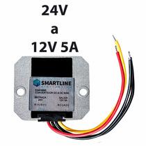 Convertidor De Voltaje, Corriente Directa 24v A 12v 5a