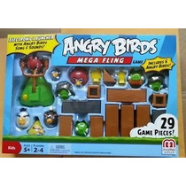 Angry Birds Juego De Mesa Mega Fling Oferta Unica !!!
