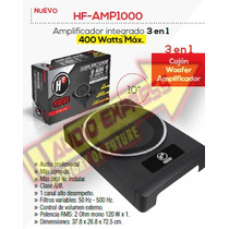 Amplificador Integrado 3 En 1 400 Watts Max Hfamp1000