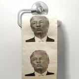 Papel Higiénico Baño Trump Decoración Broma
