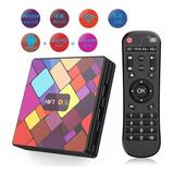 Tv Box Android 9.0 Ram 4gb Memoria 64 Bluetooth 4.0 Wifi 5g