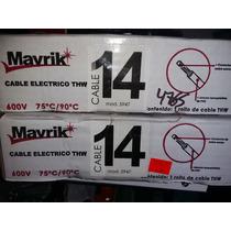 Cable Thw 14 Antiflama Mavrik