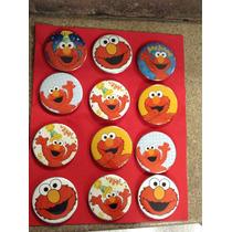 Elmo Botones Artículos De Fiesta