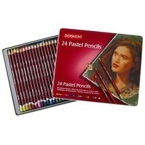 Colores Profesionales Derwent Pastel Estuche Con 24 Piezas