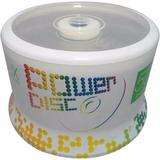 Dvd Dl Doble Capa Power Disc Con 50 8.5 Gb 8x Logo