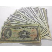 Un Billete 20 Pesos De La Corregidora Condicion Usado