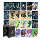 24 Tarjetas Amiibo - Colección Zelda + Link Awakening