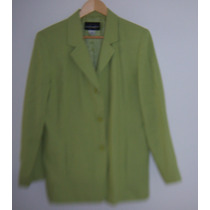 Saco Requirements Verde Formal T- 12, 3 Botones
