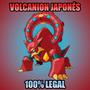 Pokémon Volcanion De Evento Especial Para Or, As, X, Y
