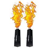 Maquina De Fuego Dmx 200w Show Flame Lanza Llamas 2 Piezas