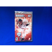 Vendo... Major League Baseball 2k12 ... Para Psp ... Vbf