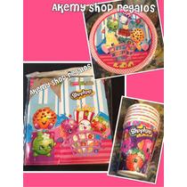 Paquete Shopkins Para 30 Niños