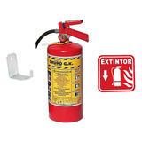 Kit Extintor 4.5 Kg Pqs + Señal+ Carta Responsiva + Curso